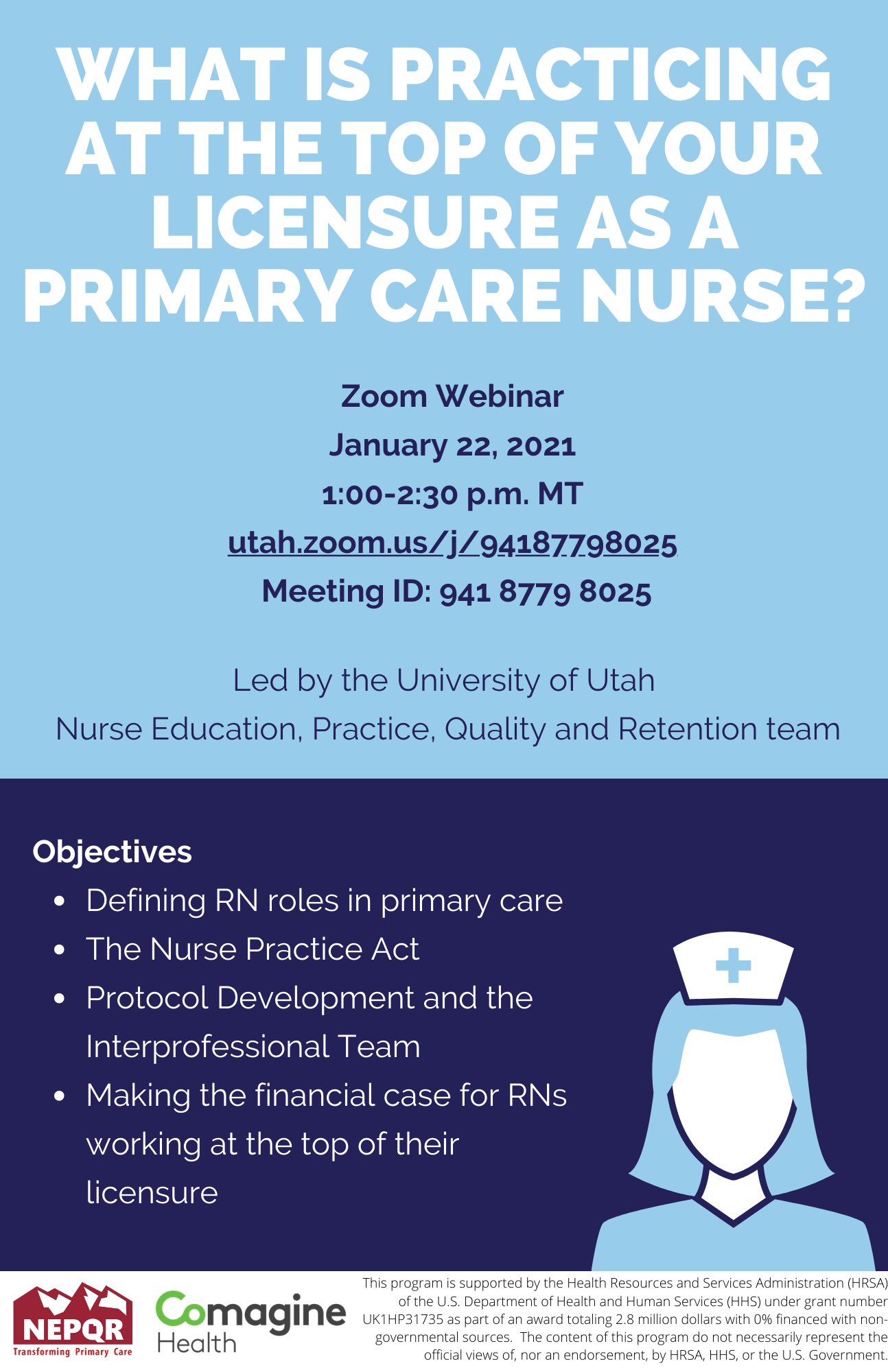 What is Practicing at the top of your licensure as a primary care nurse