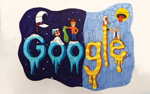San Juan Record News Story: Local 12-year-old named finalist in Google Doodle competition